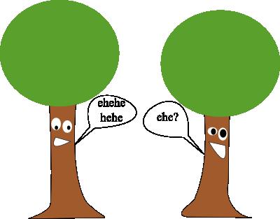 powalone drzewa