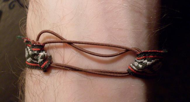 bracelet ribbon - back