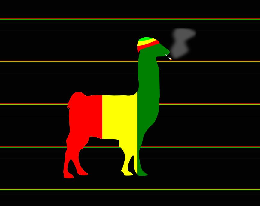 Llama impression #5: Rasta
