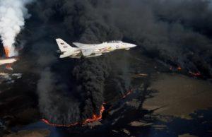 Pożar szybów naftowych w Kuwejcie, 1991 r.